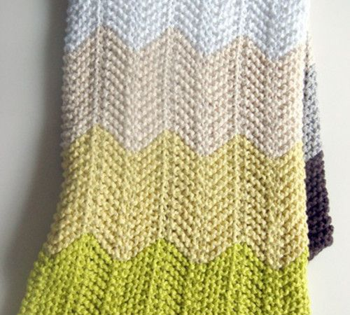 WHIT'S KNITS: CHEVRON BABY BLANKET - The Purl Bee by Purl Soho