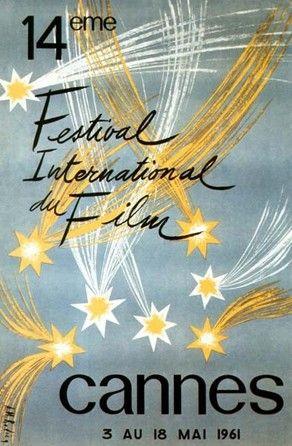 Official Festival de Cannes Poster, 1961