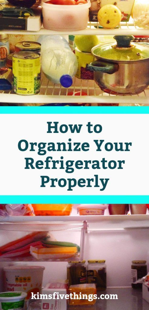 How To Organize Your Refrigerator Properly Using Fridge Storage