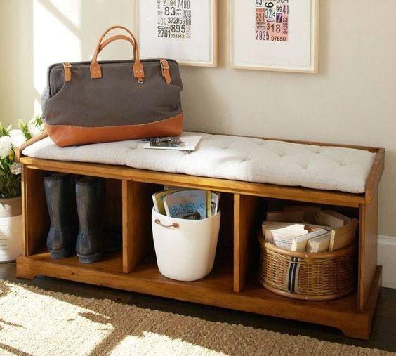 blog de decoração - Arquitrecos: Assento extra no hall em versões para todos os bolsos.