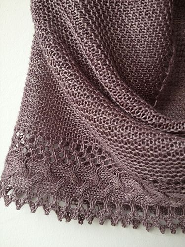 Ravelry: butterfly67's *French (grey) Cancan* #1 - Test
