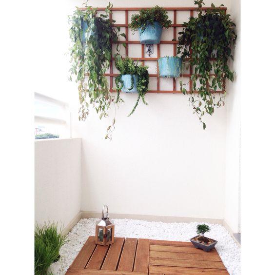 Balcony garden / Jardim na varanda