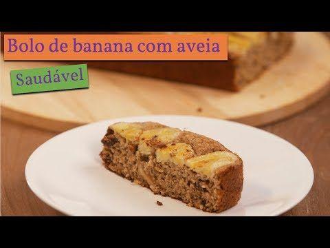 Como Fazer Bolo De Banana Com Aveia De Liquidificador Youtube