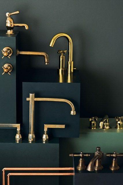 Copper - Interior Design Trends 2014 - Patterned Floors & More (houseandgarden.co.uk)