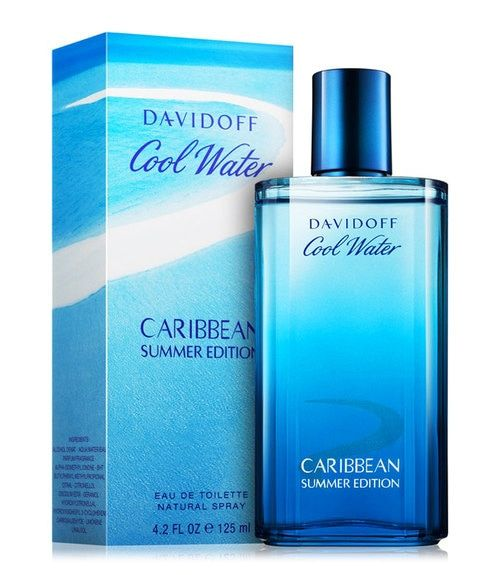Davidoff Cool Water Caribbean Summer Eau De Toilette 4.2 oz