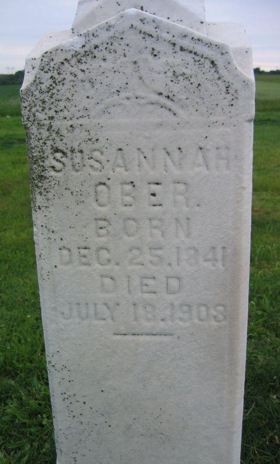 Susannah <i>Dick</i> Ober