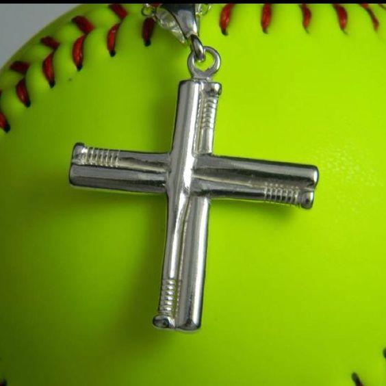 Dbl Baseball Bat Cross Www Danahoiles Com Sports Jewelry