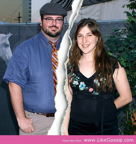 Mayim Bialik  Michael Stone Divorce Click Image To Read Full News