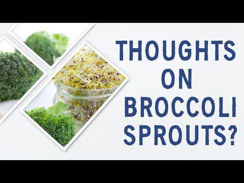 Are Broccoli Sprouts Healthy Youtube Broccoli Sprouts Healthy Broccoli
