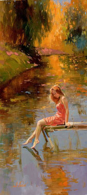Warm reflections by Irene Sheri: