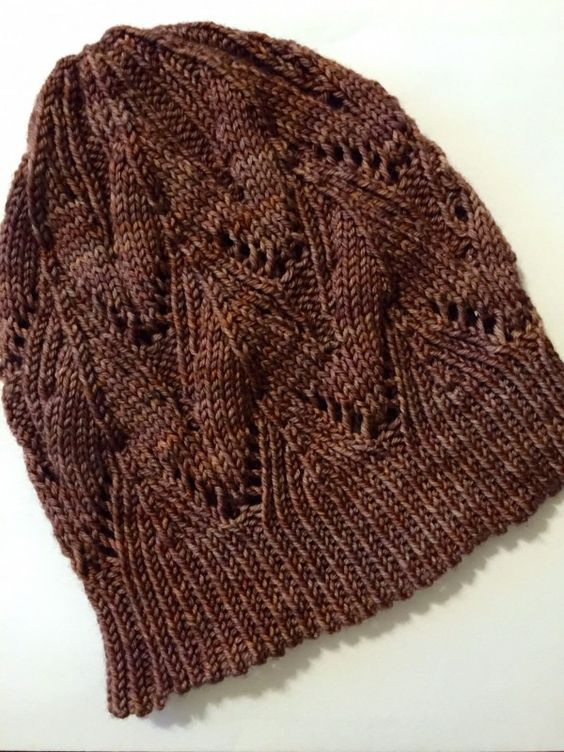 Star Anise knit hat