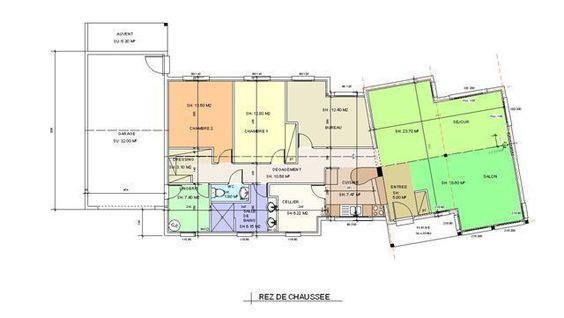Dlicieux Plan Construction Garage Gratuit   Plans De Rdc Uodele