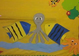 Arte em ensinar e aprender: A little sea in our room - Um pouco do mar em noss...