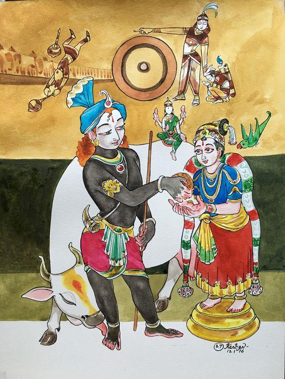 27.  SAyujya. BrahmAnubhavam.  #Tiruppavai #krishnafortoday