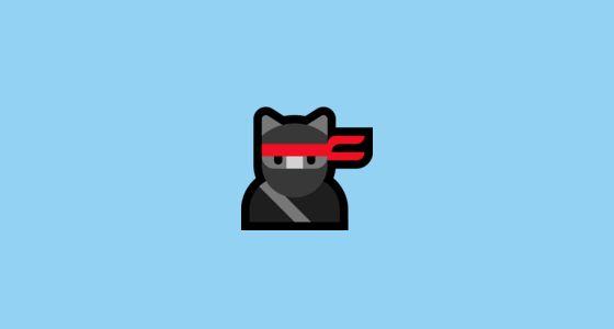 Cat Emoji Copy And Paste New Ninja Cat Emoji In 2020 Funny Printable Birthday Cards Cat Emoji Emoji Copy