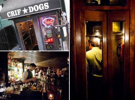 Secret Bar In Manhattan Behind Hot Dog Shop