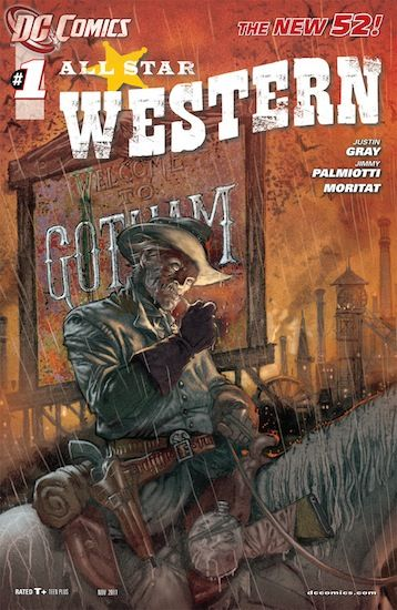 All Star Western with Jonah Hex. Loving this series so far :-)