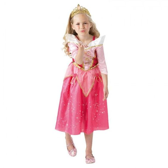 Doornroosje Kostuum | Disney Glinster | Kinder Verkleedkleding