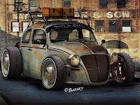 Ratty Bug Concept