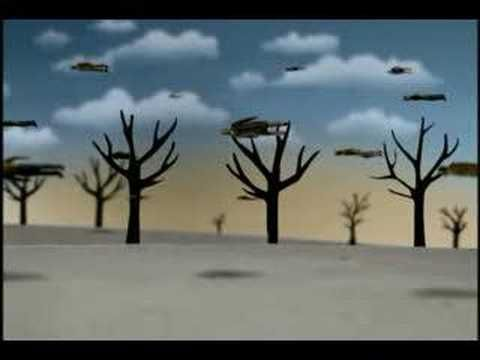 """Billy Collins reads his poem """"Some Days"""" with animation by Julian Grey of Headgear."""