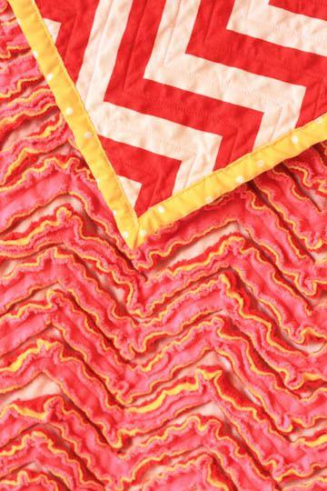 JaniJo: Chevron Chenille Blanket