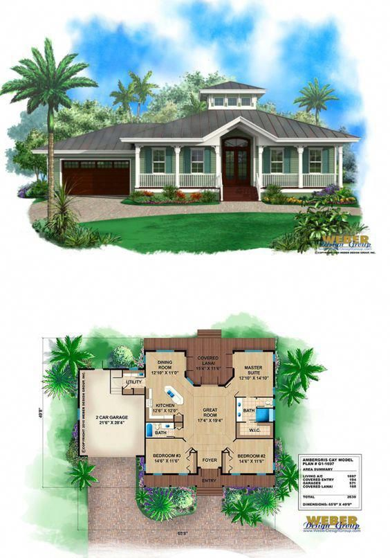Small Old Florida Cracker Style House Plan With Metal Roof Wrap Around Porch Cupola Beachcot Small Cottage House Plans Florida House Plans Beach House Plan