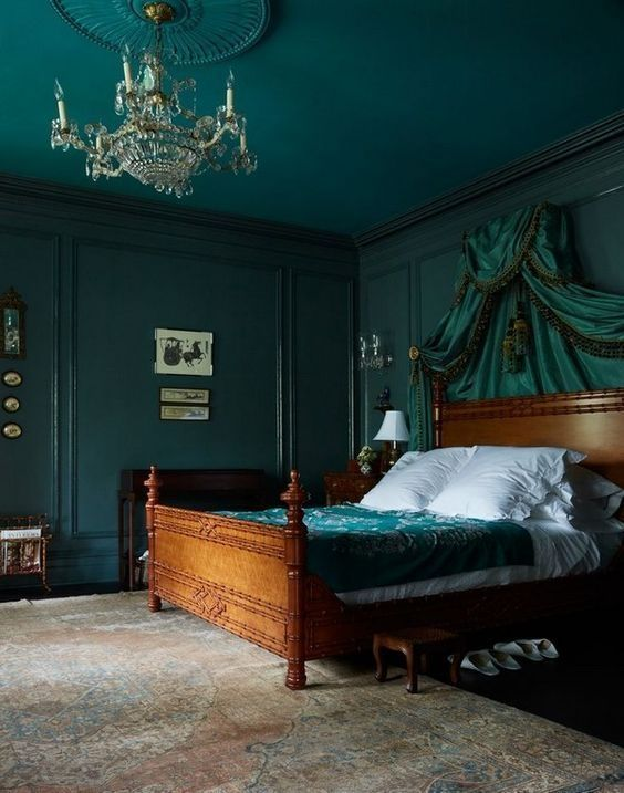 45 Cool Emerald Green Designs Ideas For Bedroom Wall - There are two ways to come up with decorating ideas for any home interior ideas. The first one is to use do brainstorming and come up with unique idea...