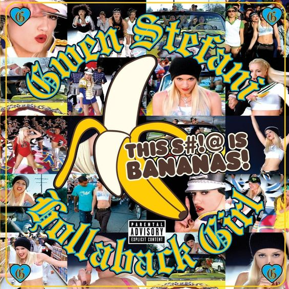 Gwen Stefani – Hollaback Girl (single cover art)