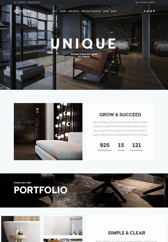 Bedroom Interior Design Catalogue Pdf Awesome 72 Best Interior Design Furniture Website Templates Freshdesignweb