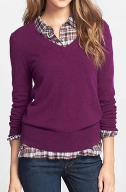 cashmere v-neck sweater  http://rstyle.me/n/tkdt6pdpe: