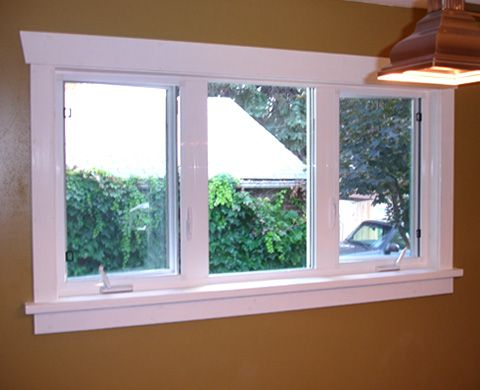 Wonderful classic bungalow craftsman style window trim mybungalowlife dining room - Painting window sills exterior set ...