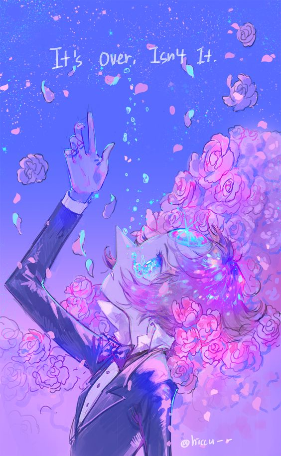 """It's Over, Isn't It?""- Pearl. Steven Universe"