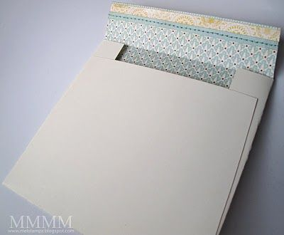 """Envelope template for 5-1/2"""" square card"""