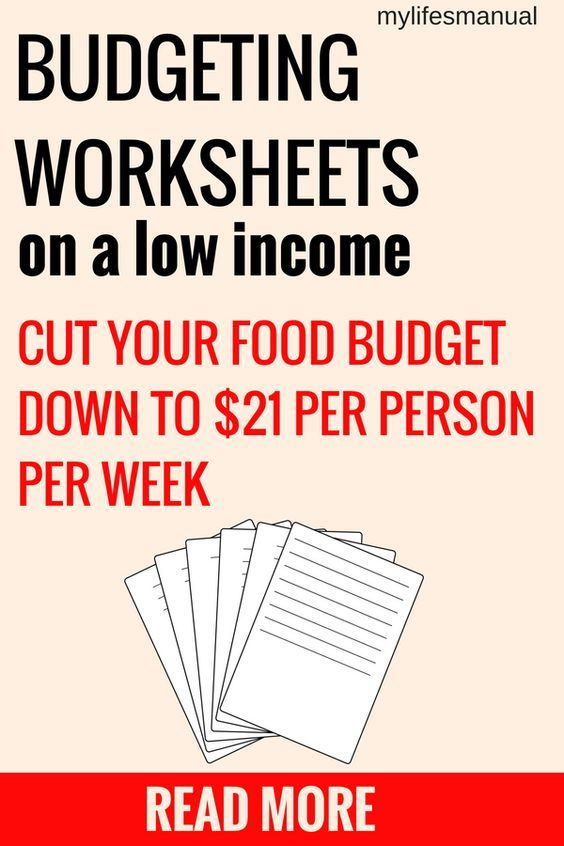 Money Saving Worksheets For Mom S Tight Budget Food Budget Of 21 Per Person Per Week Budgeting Budgeting Worksheets Saving Money