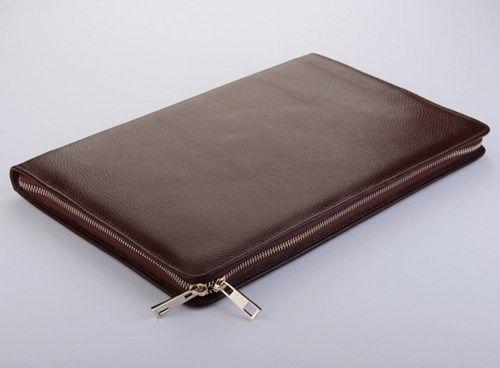 Leather Macbook Pro 13 Inch Business Zipper Cover For Carry Portfolio Sr Macbookproaccessories Leather Macbook Case Macbook Leather Macbook Pro Accessories