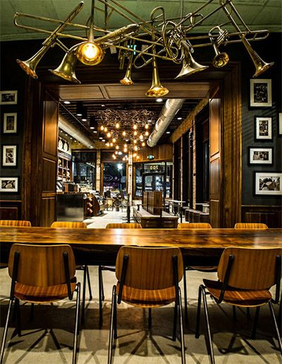 Starbucks Channels Old World Mysticism In New Big Easy Store Pinterest Commercial Interiors