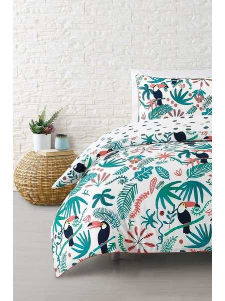 Cotton Quilt Cover Set Queen Bed