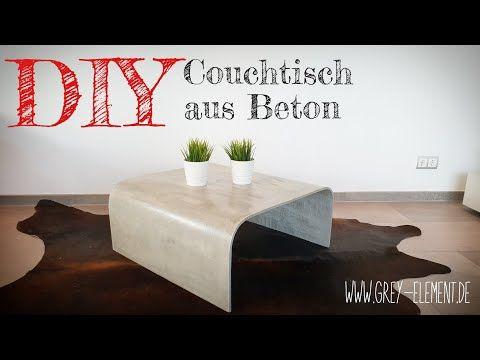 Couchtisch Tisch Aus Beton Selber Machen Betonmobel Diy Youtube Diy Couchtisch Couchtisch Couchtisch Beton