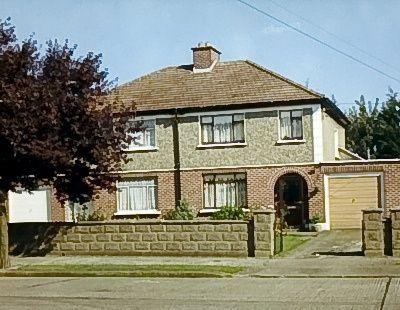 Bono's childhood home, 10 Cedarwood Road, Ballymun, Dublin Ireland #u2newsactualite #u2newsactualitepinterest #u2 #bono #paulhewson #music #rock #alisonhewson #alihewson