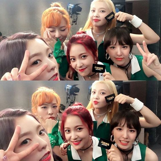#Wendy #RedVelvet #웬디 #레드벨벳 Music Bank Twitter Update 심쿵주의😘 신곡 #러시안룰렛 과 함께하는 #레드벨벳 컴백토크🎶 #노노해 를 이은 #예리 의 new 유행어부터 #슬기 의 3연속 앞머리 들썩춤까지🌟  #수요일새벽1시 #본방사수 #핫삐삐삐 🎵