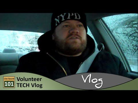 An Icy Start & Vlogging In The Car | Volunteer Tech Vlog - YouTube