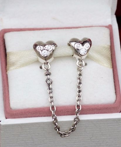 Authentic Pandora Charm Silver DISNEY HEART OF MICKEY No.791704CZ Safey chain https://t.co/2i9fMuGldo https://t.co/HuWZy1tsN7