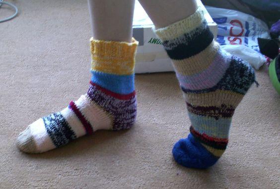 wikiHow to Knit Socks -- via wikiHow.com