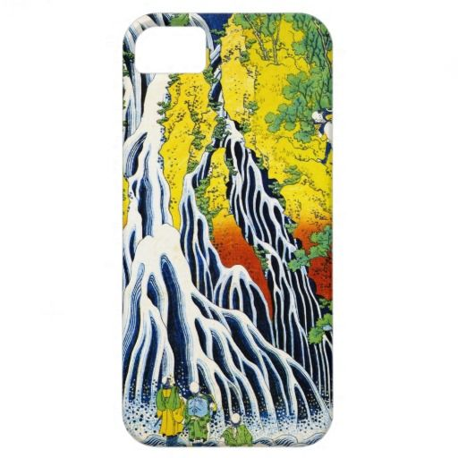 Cool oriental japanese hokusai Waterfall forest ar iPhone 5 Cover by TheGreatestTattooArt #iPhone5 #iphone #smartphone #case #cover #japan #japanese #phonecases #oriental #gift #customizable