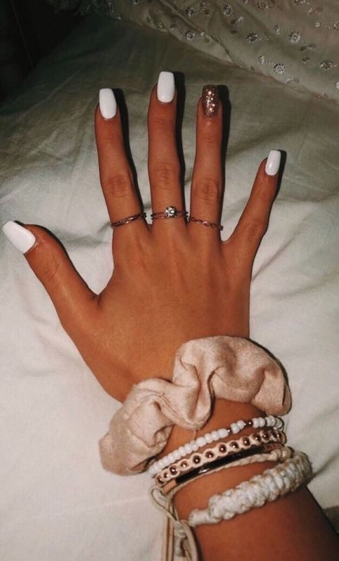 Vsco Gurl Moods Short Acrylic Nails Best Acrylic Nails Pretty Acrylic Nails