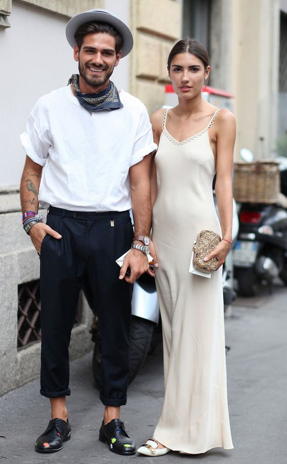 Couple we love: Patricia Manfield & Giotto Calendoli