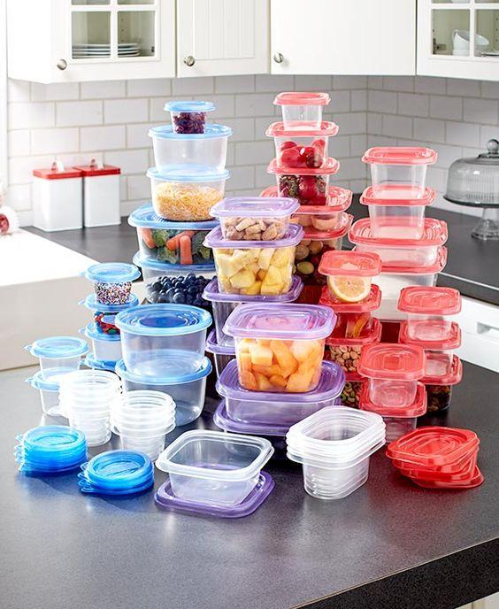 104-Pc. Colorful Food Storage Set LTD Commodities