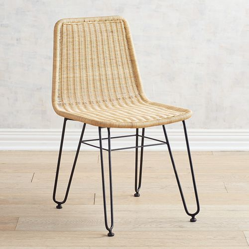 We D Call Our Modern Jack Dining Chair S Style Casually Chic With A Touch Of Tropical Flair The Comfort Wicker