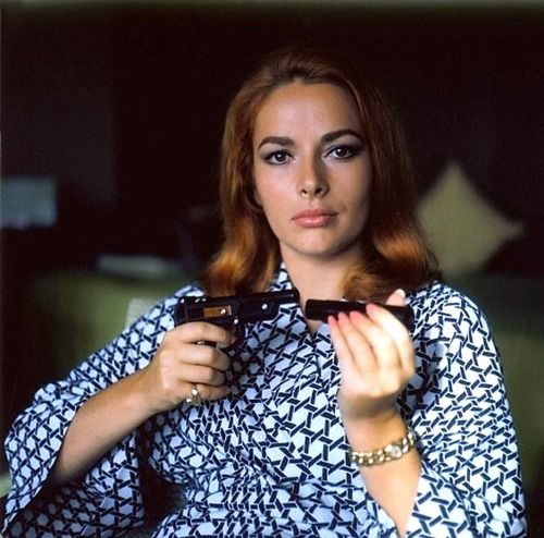 "Karin Dor as Helga Brandt in ""You Live Only Twice"", 1967"
