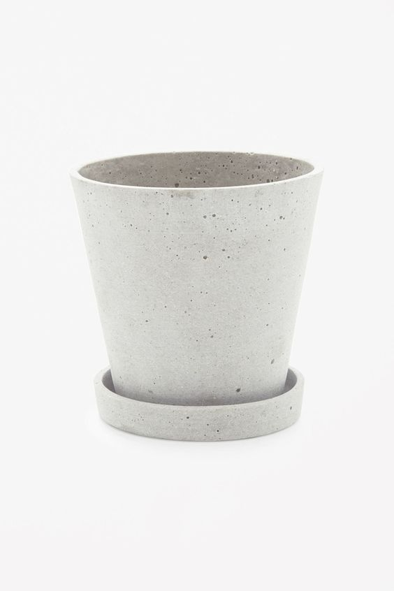 COS image 3 of HAY X-Large flowerpot in Light Grey